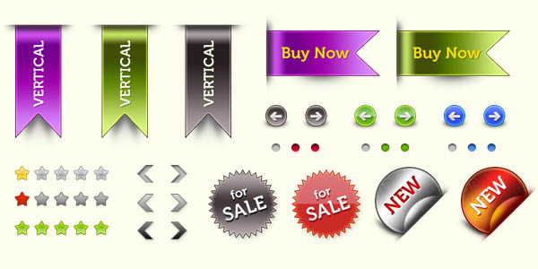 Web elements pack (PSD & PNG)_16