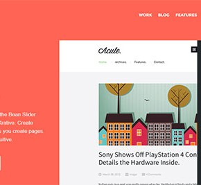 23 Modern Flat WordPress Themes