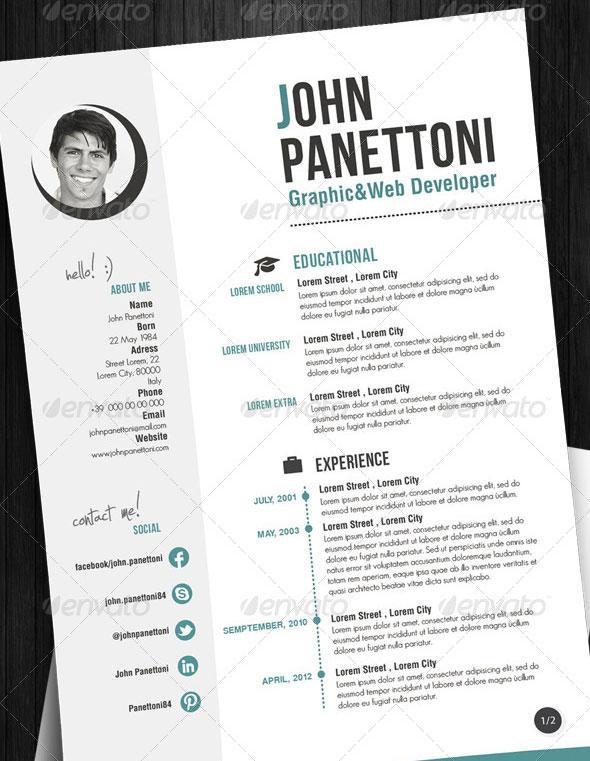 Professional Easy Resume/CV