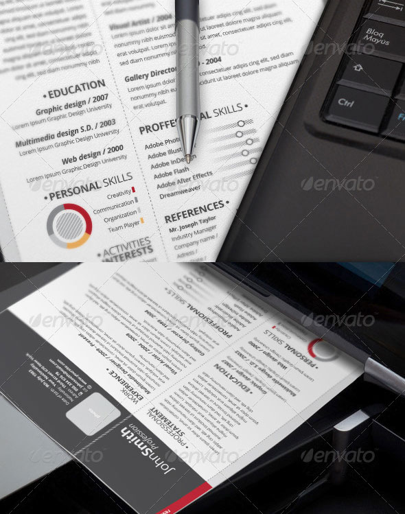 2-Piece Pro Resume   Cover Letter