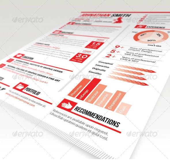 Resume / CV   Cover Letter Set 01