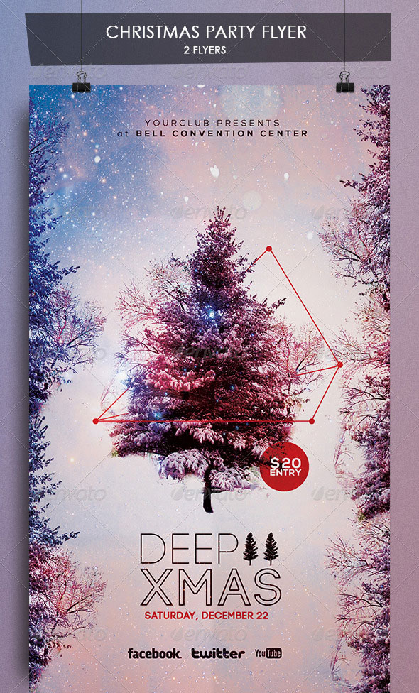 DEEP CHRISTMAS FLYER