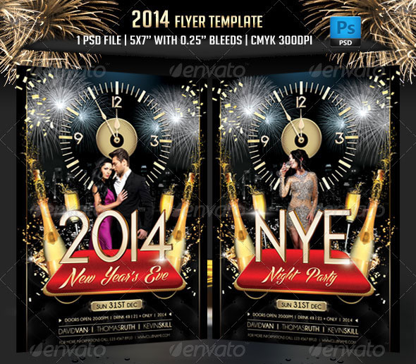 2014 Flyer Template