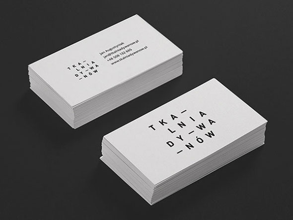 Business cards – Tkalnia