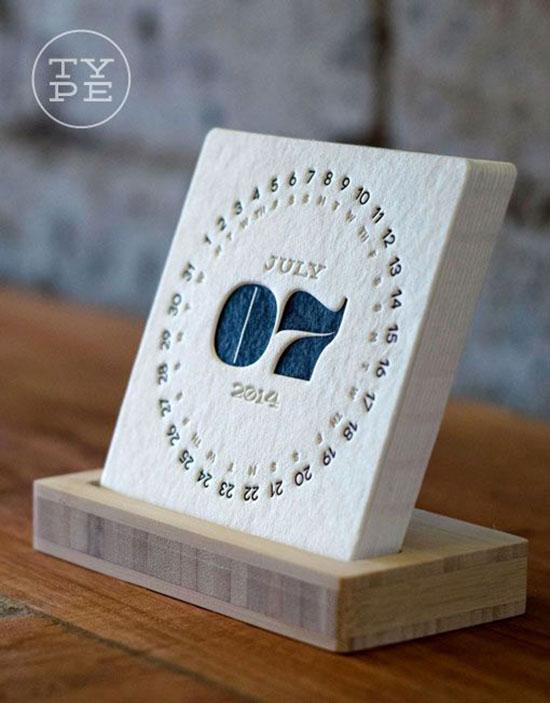 2014 Letterpress Desk