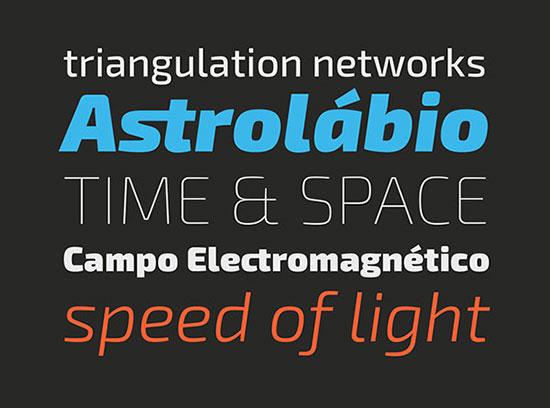 Exo 2.0, A Contemporary Geometric Sans Serif Font