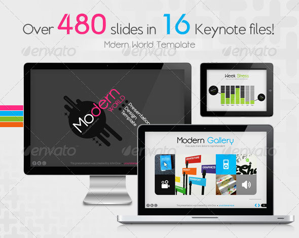 Modern World Presentation Template for Keynote