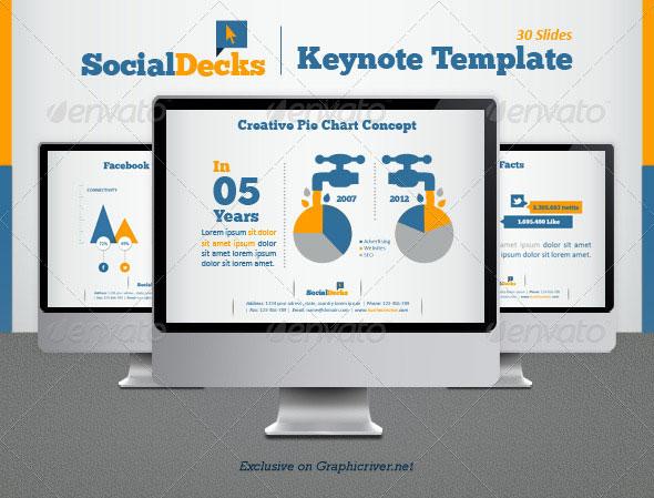 SocialDecks Keynote Template