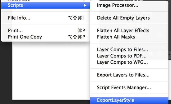 LayerMiner: Photoshop script exports Layer Styles to JSON