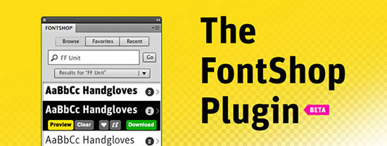 The FontShop Plugin