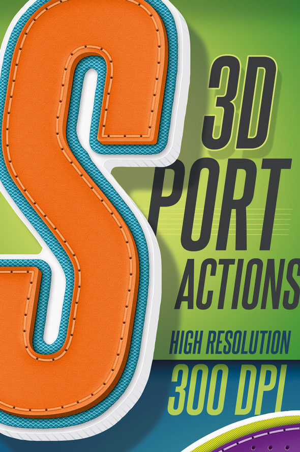 3d-sport-text-actions