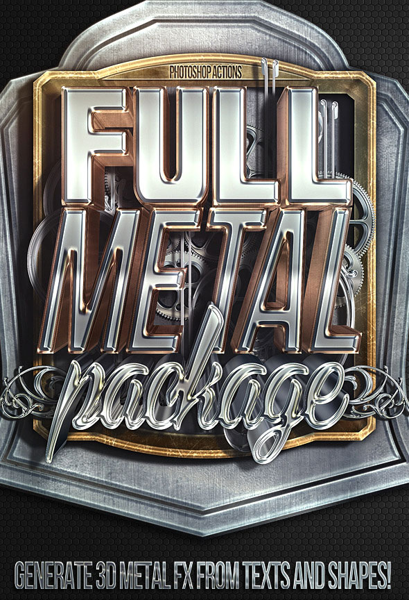full-metal-package-3d-photoshop-actions