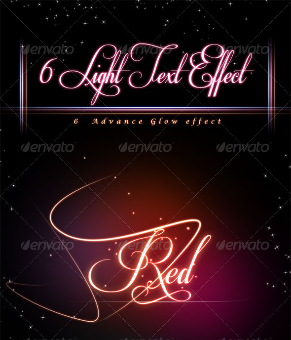 glowing-light-text-effect
