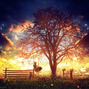 25 Spectacular Examples Of Tree Photo Manipulation