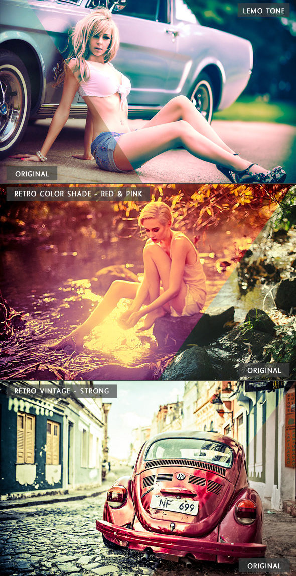 18 Retro Lr Presets - For Images & Videos
