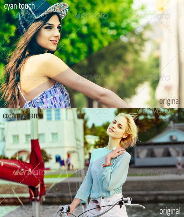 Professional Portraits Lightroom Presets
