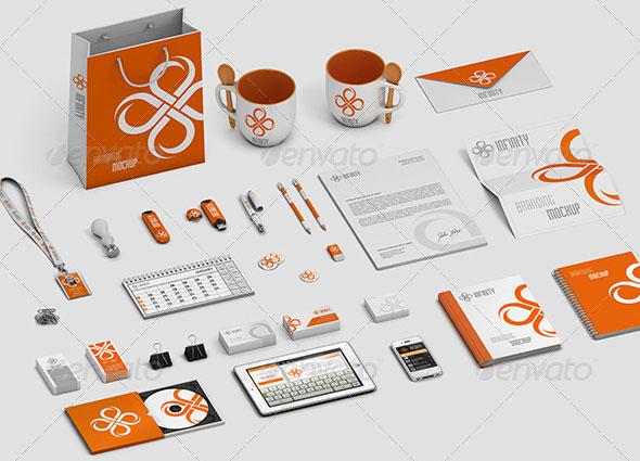 Stationery / Branding Mock-Up V.1
