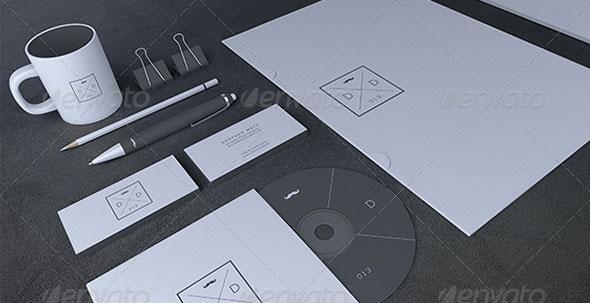 Blank Stationery / Branding Mock-Up