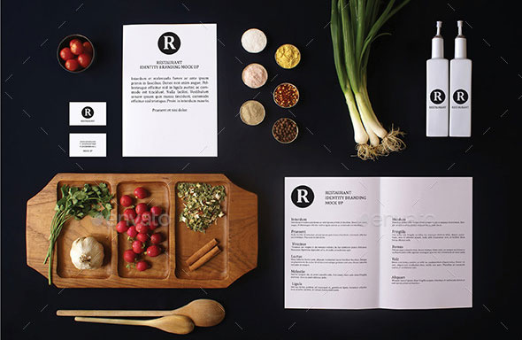 Restaurant Identity Branding Mock-Up