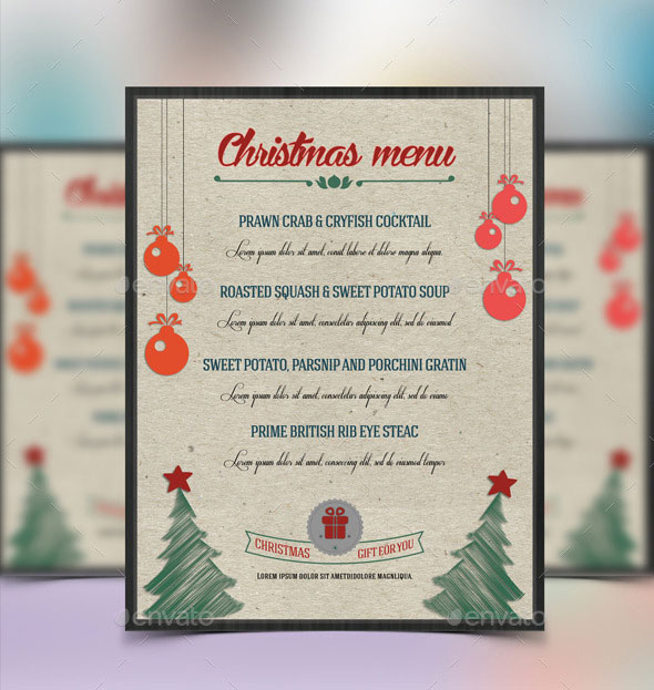 Christmas Food Menu-V01