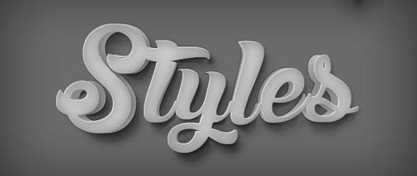 10 3D Styles V.14