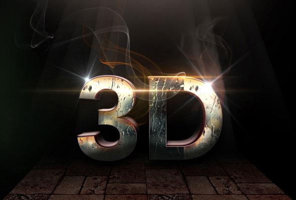 10 3D Text Styles V.46