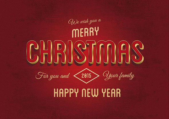 10 Christmas Text Effects