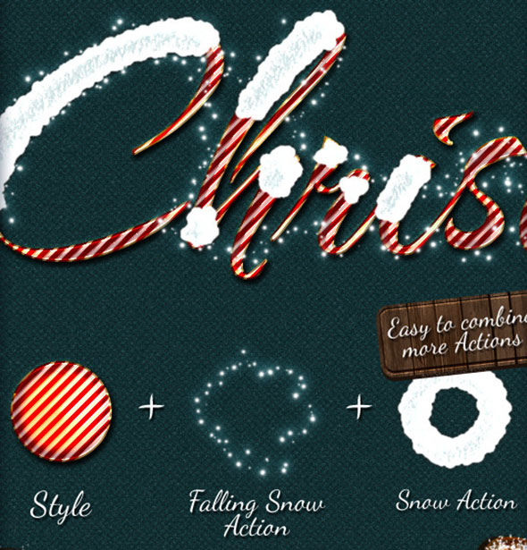 Christmas And Winter Styles + Actions