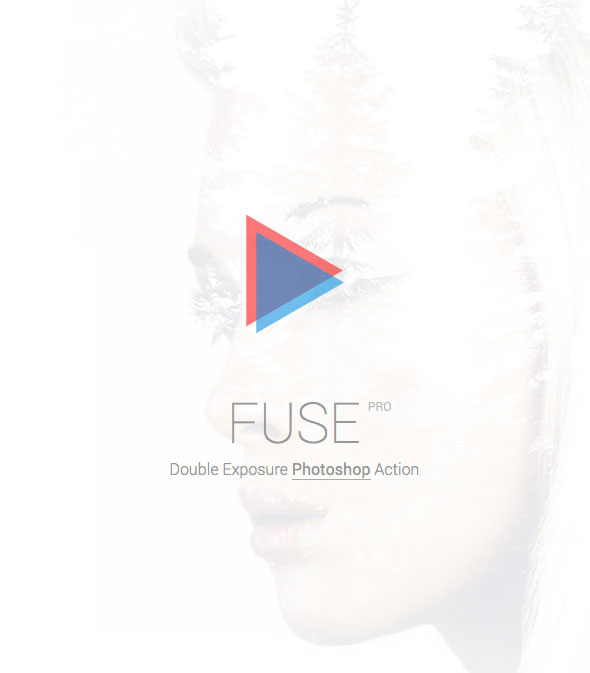 FUSE Pro - Double Exposure Photoshop Action