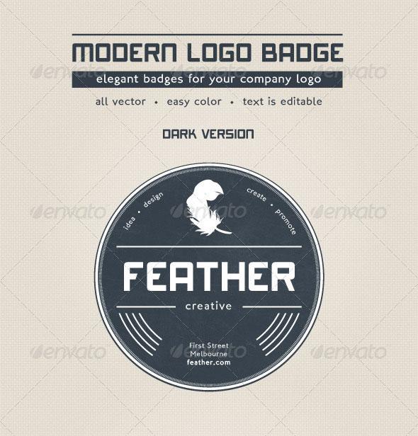 Modern Logo Badge