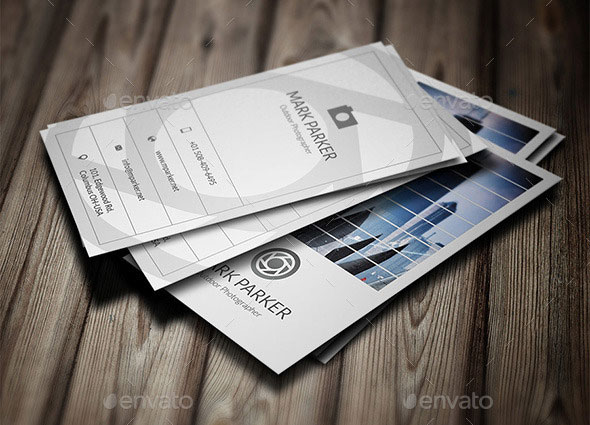 Outdoor Photographer Business Card Vol-01