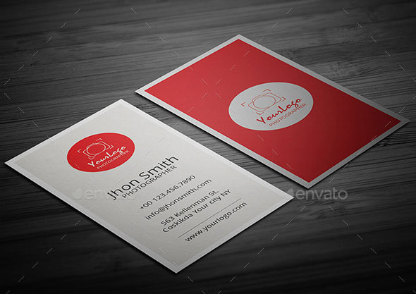 Creative Photgrapher Business Card 03