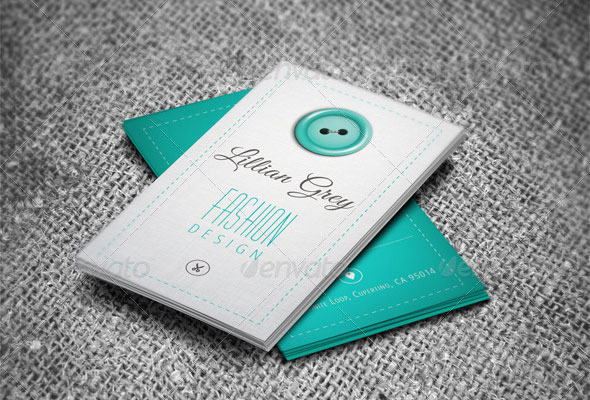 Fashion Designer Business Card - Vol.2