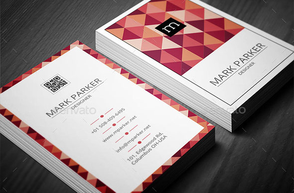 Retro Star Business Card Vol2