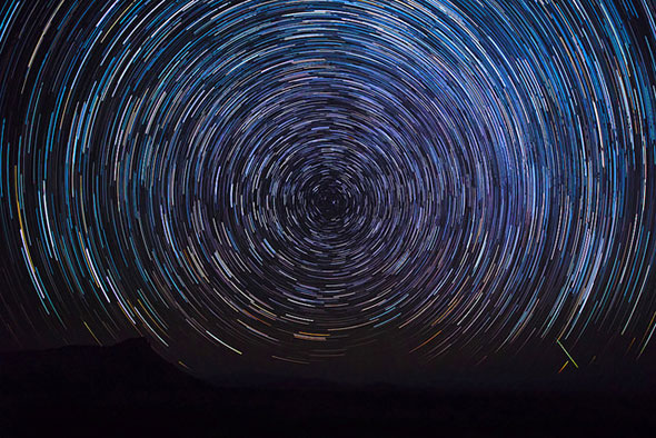 Big Bend Star Trails by mitalpatelphoto