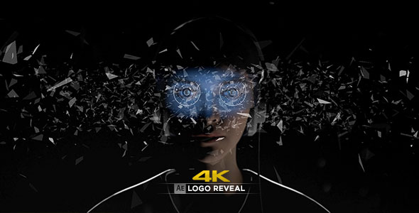 Virtual Reality 4K Logo Reveal