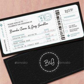 25 Unique & Beautiful Wedding Invitation Designs