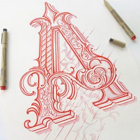 30 Absolutely Gorgeous Hand Lettering Typography Designs
