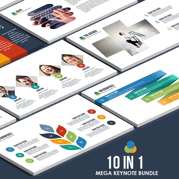 10 IN 1 - Mega Keynote Bundle