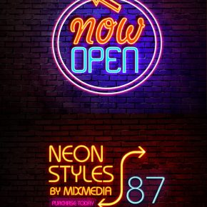 25 Realistic Photoshop Neon Text Effects