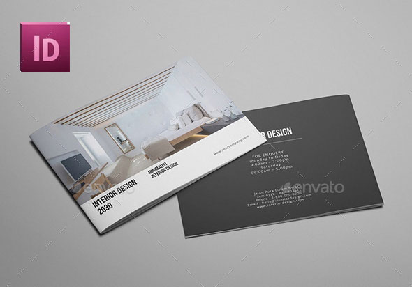 A5 - Interior Design Brochure Catalog