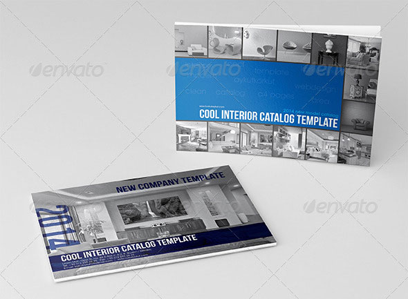 Cool Interior Catalog Template