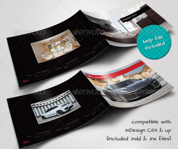Modern, Interior And Moto A4 Brochures