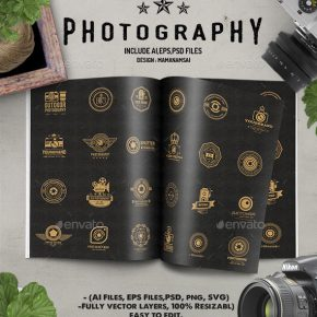 20 Stunning Photography Logo Design Templates