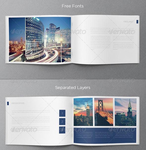 Minimal Portfolio Brochure