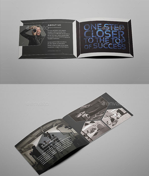 A5 Photography Portfolio Brochure