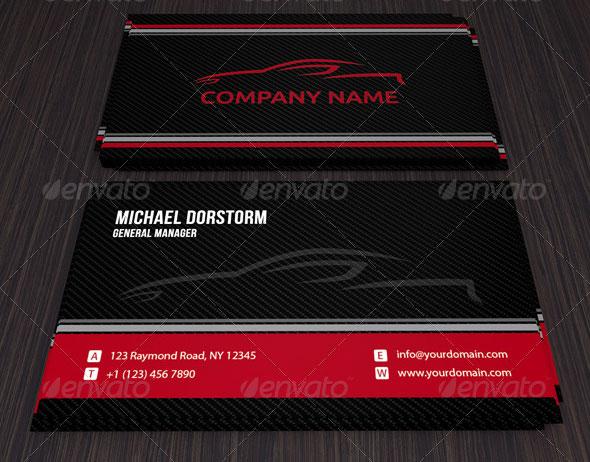 Carbon Automotive Business Card