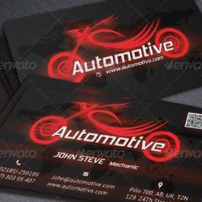 20 Best Automotive Business Card Design Templates