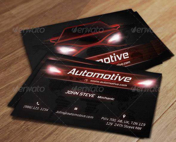 Automotive Business Card v2