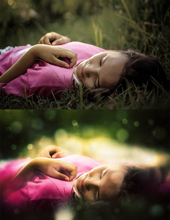 Soft Focus Photoshop Action